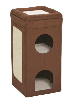 Midwest Midwest  Cat Cube Condo Dbl Brown