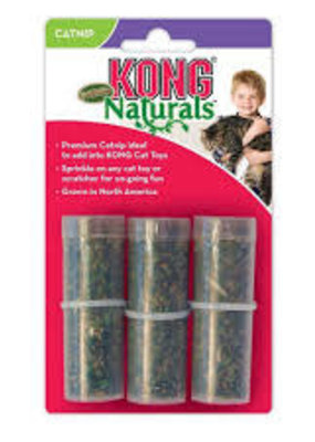 Kong Kong Catnip Refillable Tube 3pk