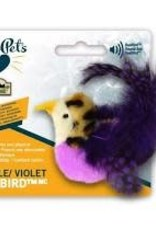 Our Pets OurPets Purple Real Bird