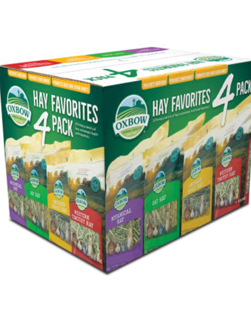 Oxbow Oxbow Hay Favorites Variety 4pk