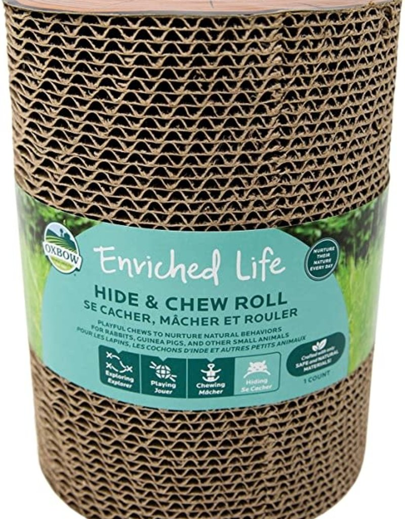 Oxbow Oxbow Hide & Chew Roll - Paper Tube