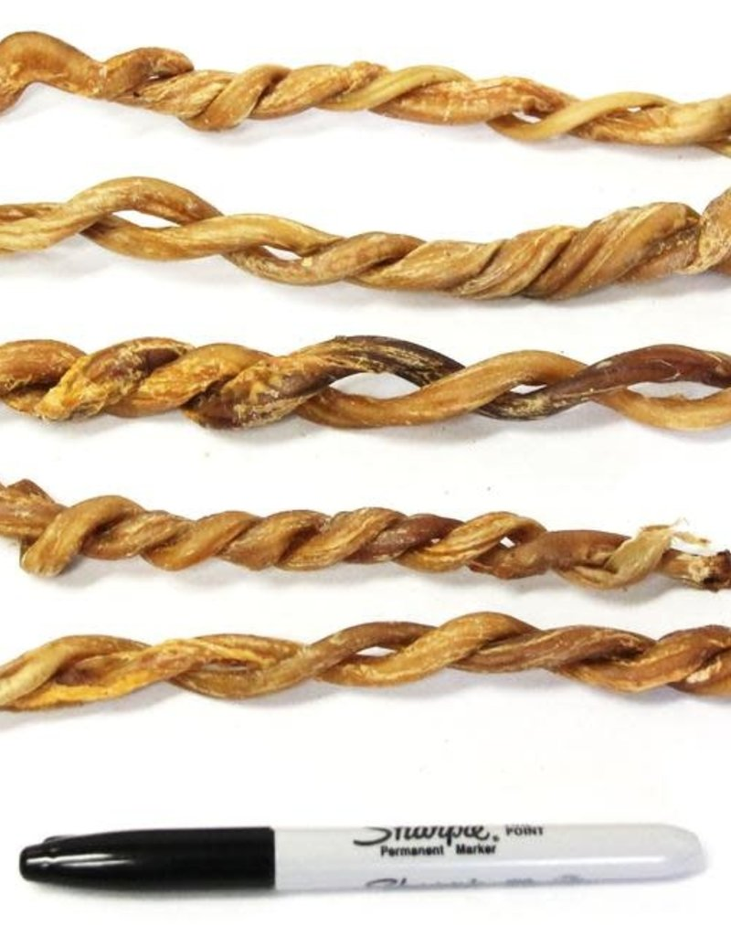 """The Natural Dog Company NDC 8"""" Twisted Lamb Pizzle"""