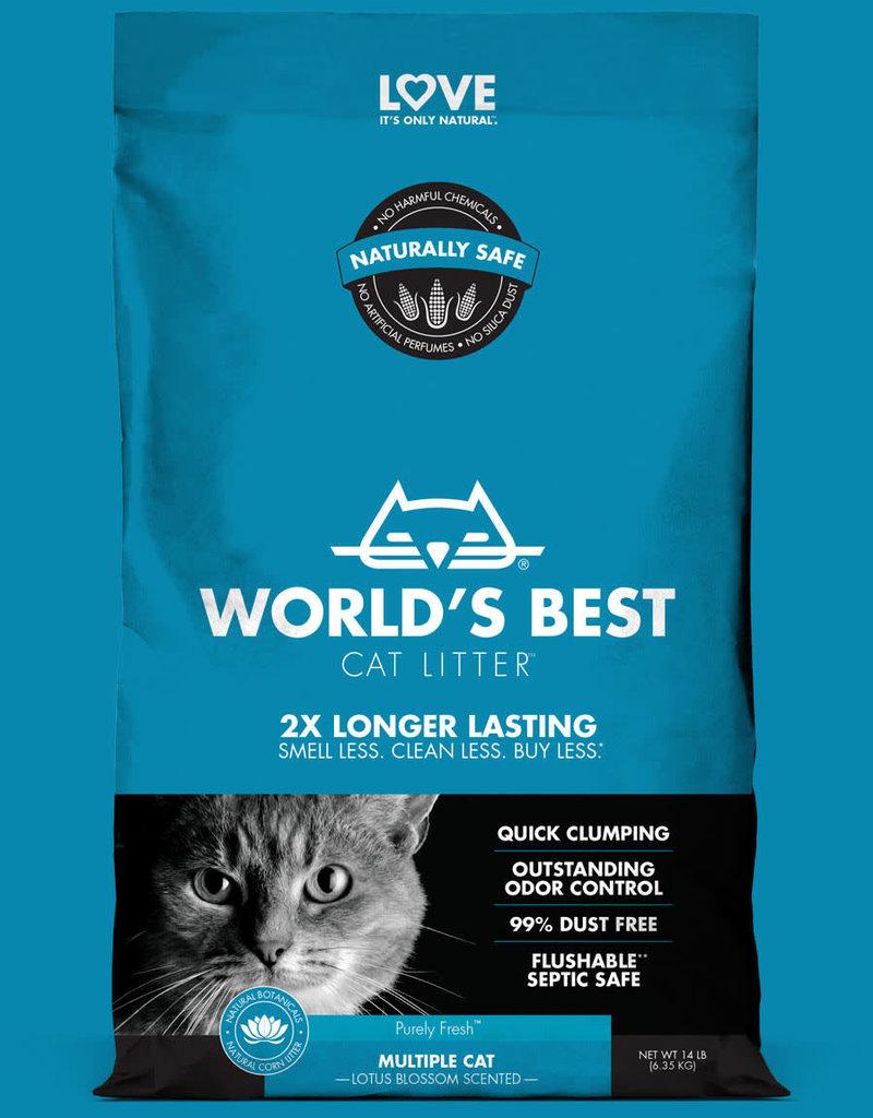 Worlds Best World's Best Cat Litter Lotus Blossom