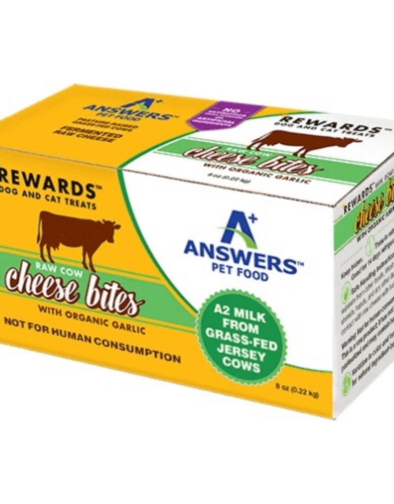 Answers Pet Food Answers Rewards Cow Cheese Bites w/ Garlic