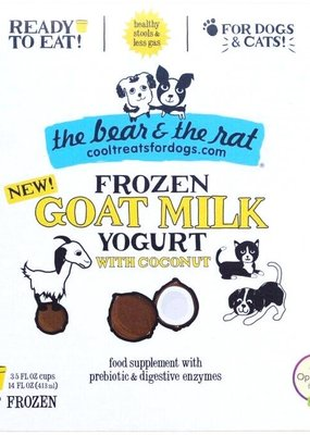 The Bear & The Rat The Bear & The Rat Goat Milk Yogurt