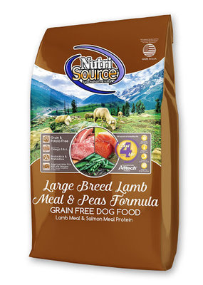 NutriSource NutriSource Large Breed Lamb 30#