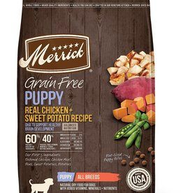 Merrick Merrick GF Chicken and Sweet Potato Puppy 25#