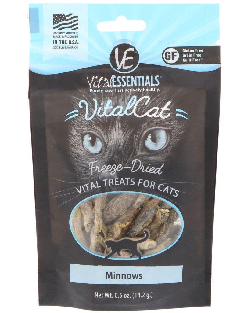 Vital Essentials Vital Essentials Freeze-Dried Cat Treats Minnow 0.5oz