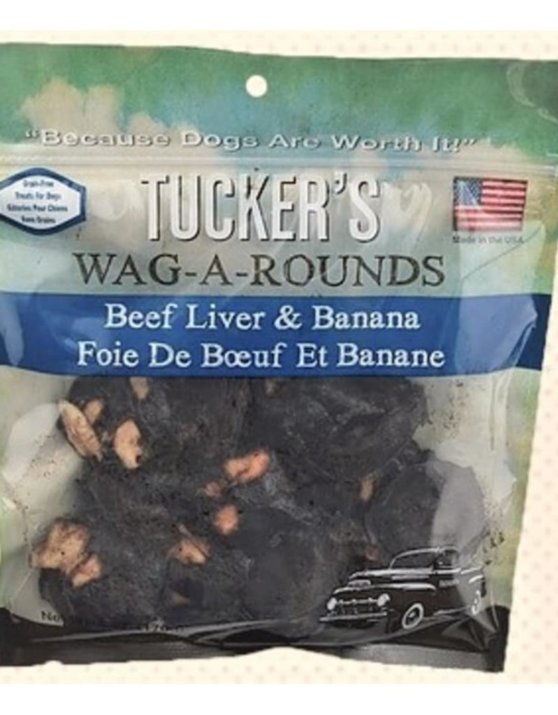 Tuckers Tuckers Wag A Round Dog Treats 6oz