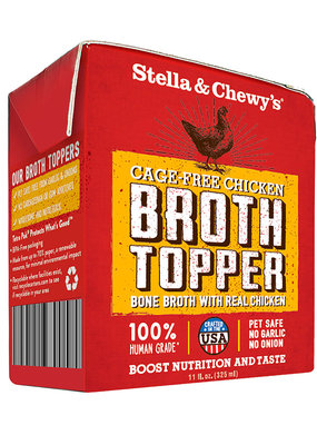 Stella & Chewys Stella & Chewy's Broth Topper Chicken 11oz