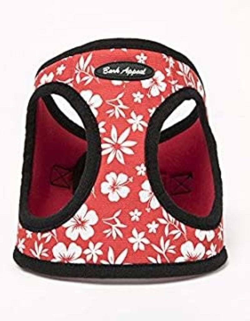 Bark Appeal Bark Appeal EZ Wrap Step-In Harness Hibiscus