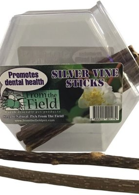 From the Field From the Field Silver Vine Dental Sticks - Cat