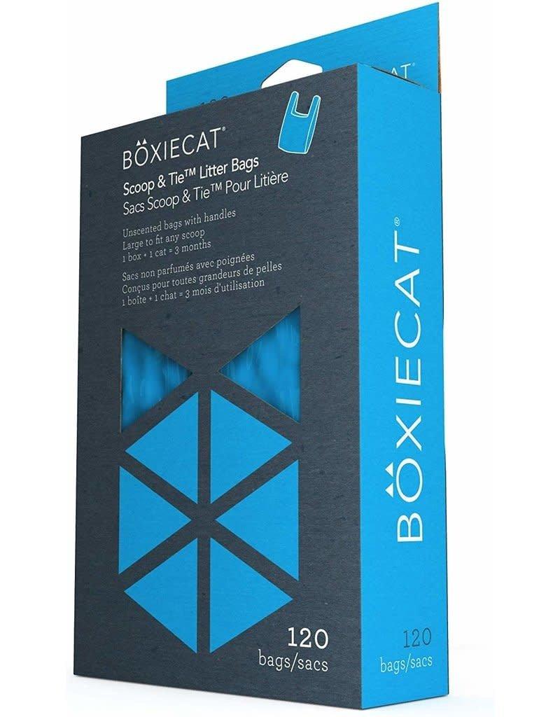 Boxie Cat Boxie Cat Scrape & Tie Litter Bags 120ct