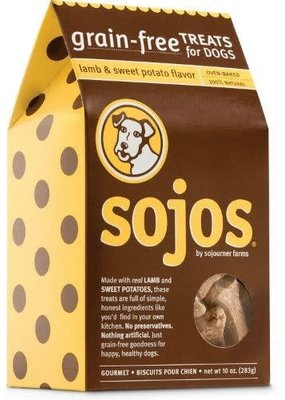 Sojos SOJOS GF Lamb & Potato Biscuits 10oz