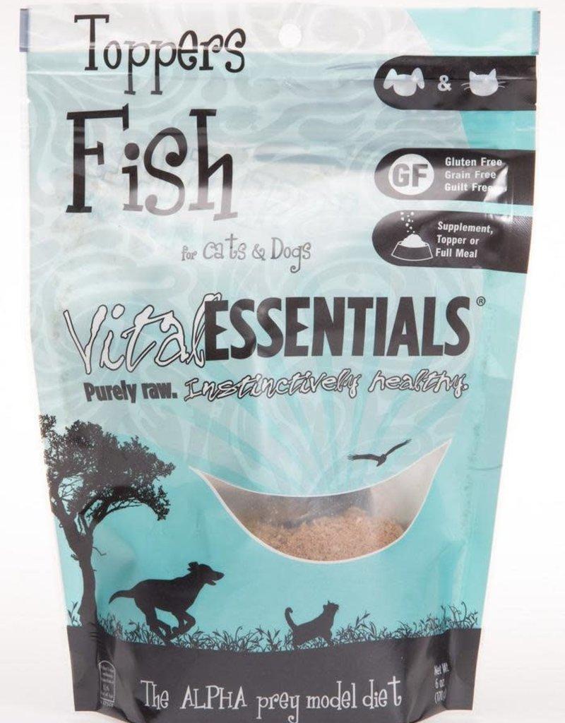 Vital Essentials Vital Essential Freeze-Dried Fish topper 6oz