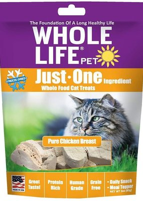 Whole Life Whole Life Freeze-Dried Cat Treats Chicken 3.0 oz