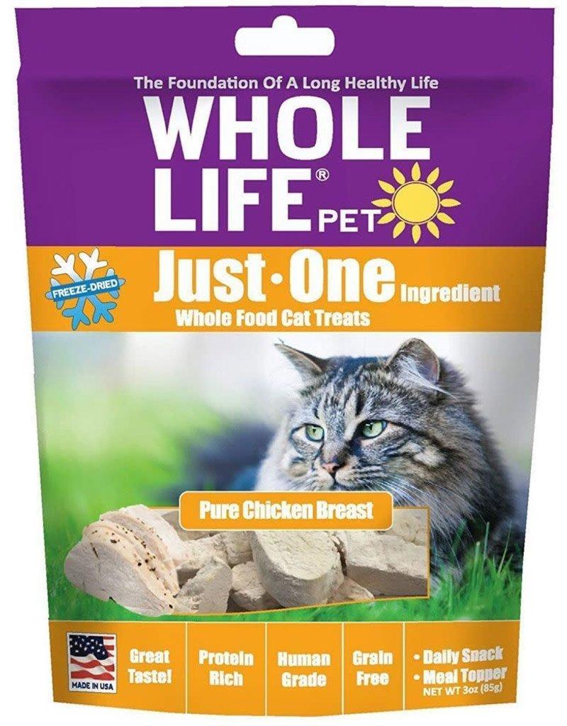 Whole Life Whole Life Freeze-Dried Cat Treats Chicken 3.0 oz