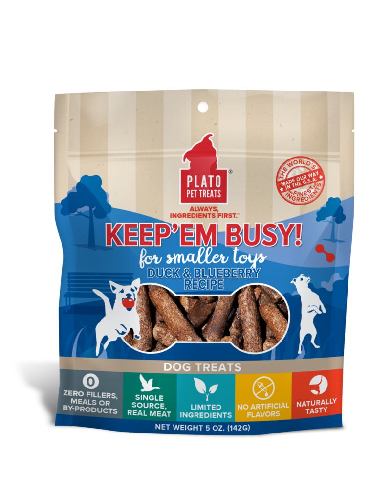 Plato Plato Keep Em Busy Treat 5oz