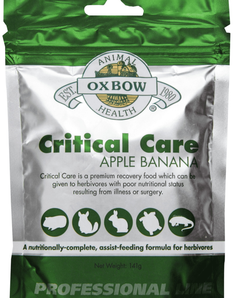Oxbow Oxbow Critical Care Apple/Banana 5oz