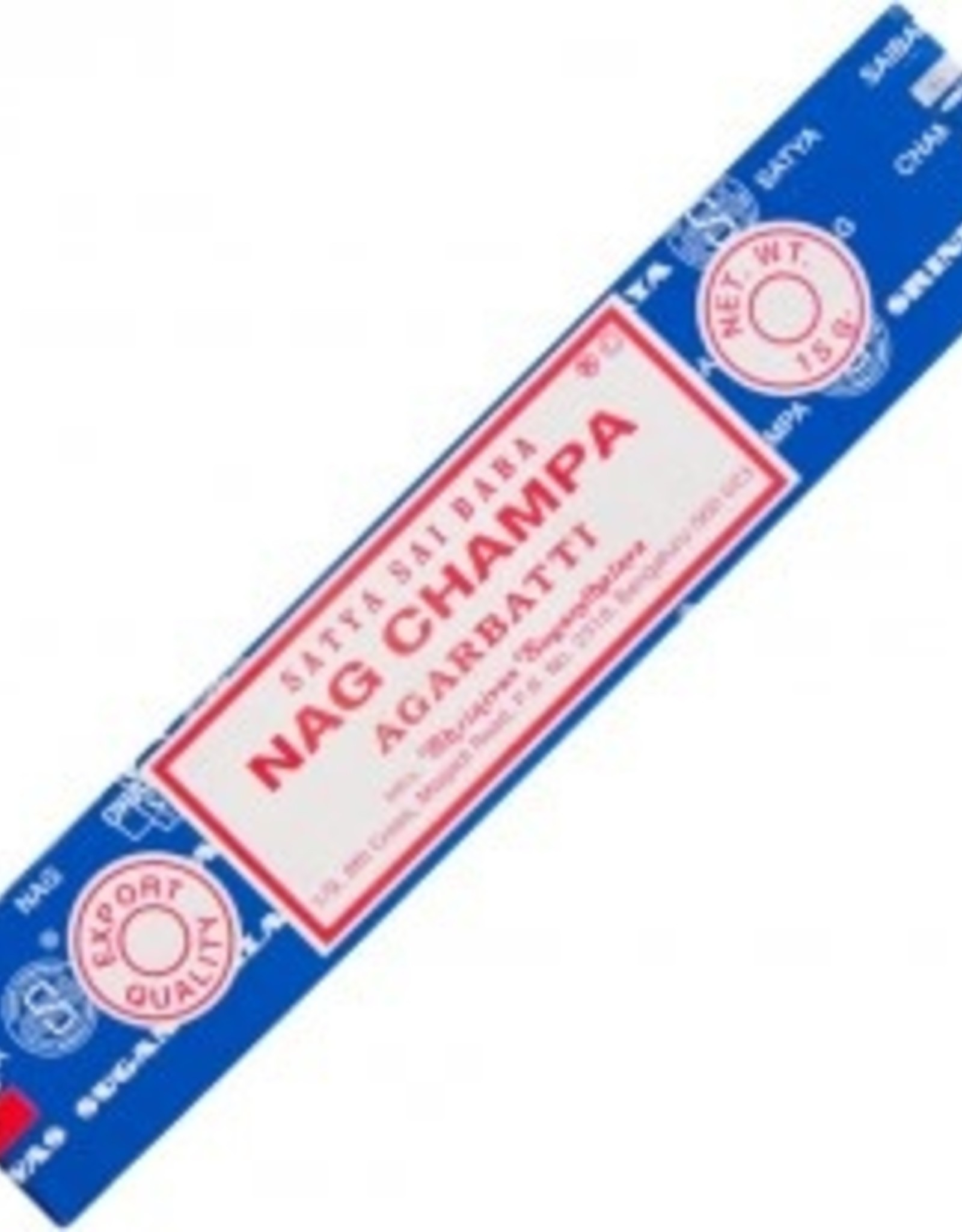 Incense Nag Champa Satya 15 gm
