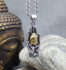 Necklace Buddha Hand DD