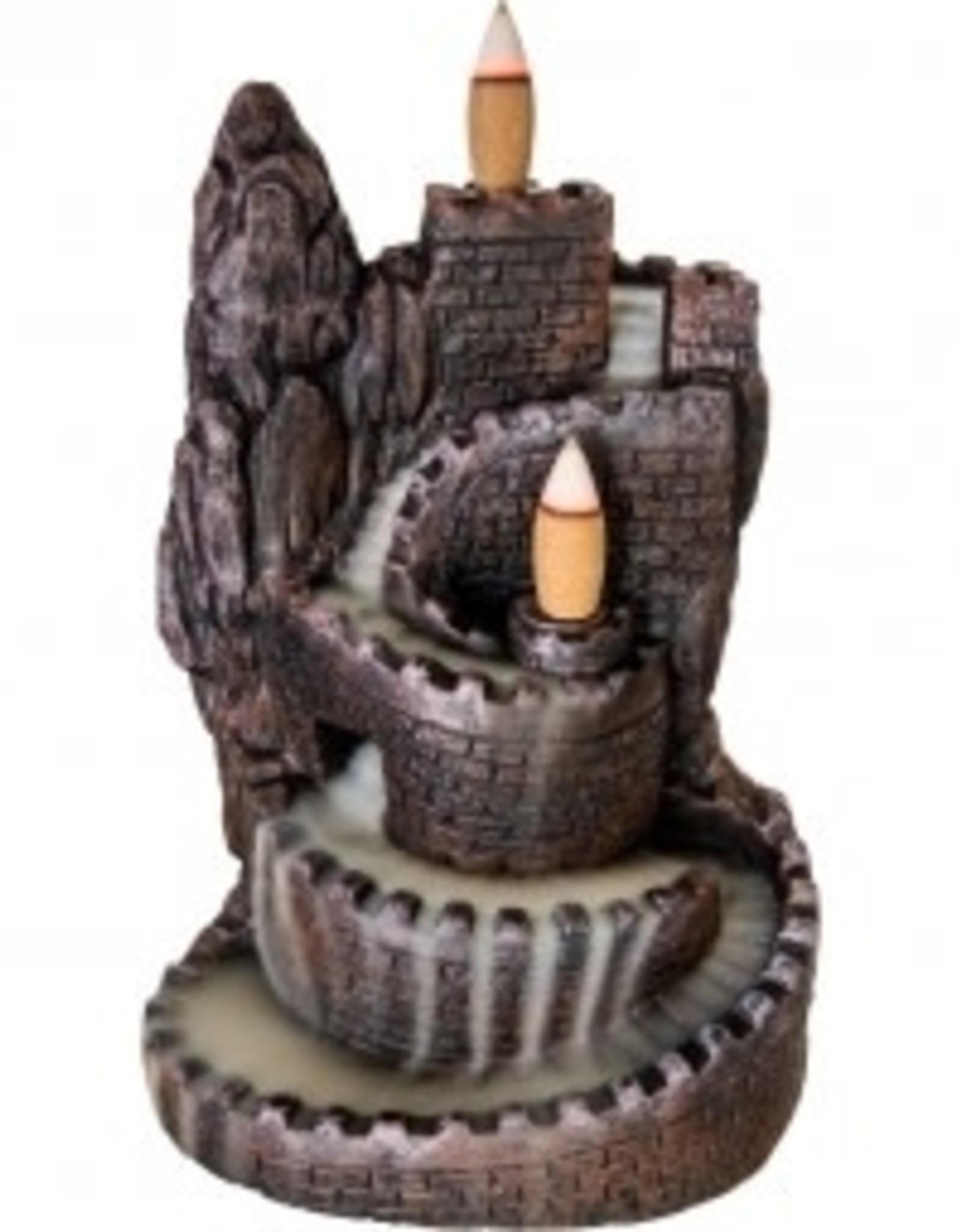 Backflow Incense Burner Castle KE