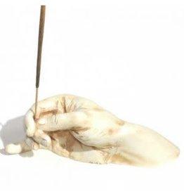 I.B Hand Antique Ivory SI