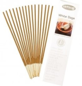 Incense Nitiraj 25gm Box White Sage KE