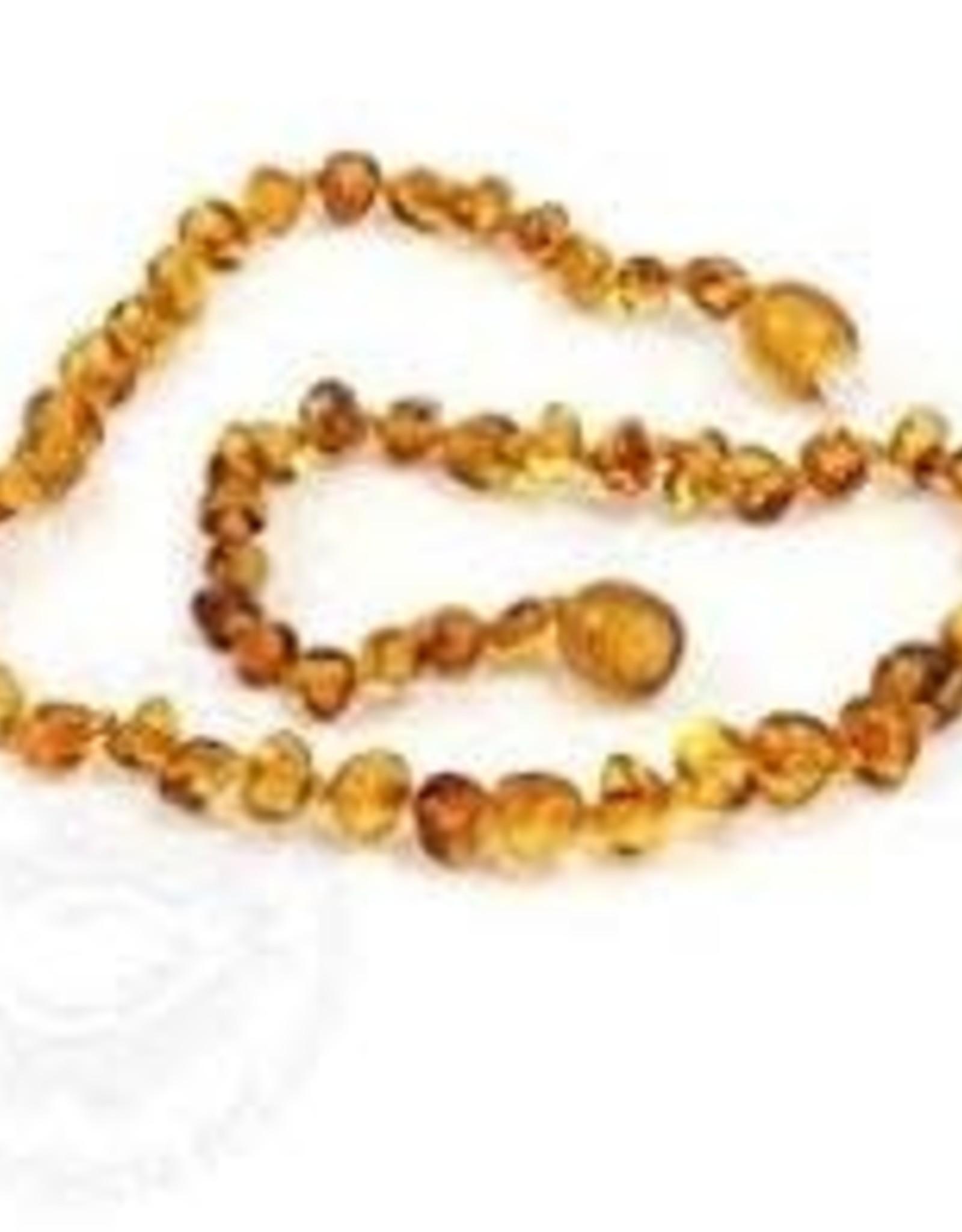 Necklace - Baroque Honey Small