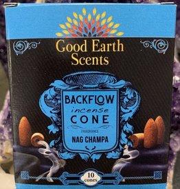 Boxed Backflow Cones Nag Champa 12Box DK