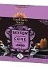 Incense Boxed Backflow Cones Lavender 12pk DK