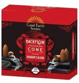 Incense Boxed Backflow Cones Dragons Blood 12pk DK