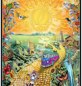 Tapestry Smaller Grateful Dead Golden Road 30x45 SJ