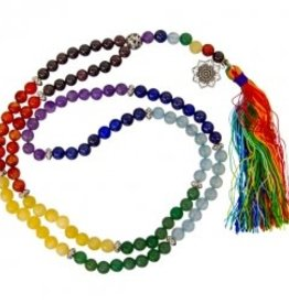 Mala Necklace Chakra 6 mm KE