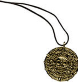 Skull Coin Necklace MC