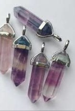 Necklace Fluorite Point EB