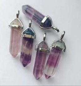Necklace Fluorite Point