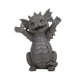 Garden Statue Small Dragon Happy PG