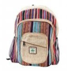 BEN Hemp Large Multi Backpack BEN