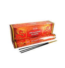 Incense Dragon's Blood Hem Hex