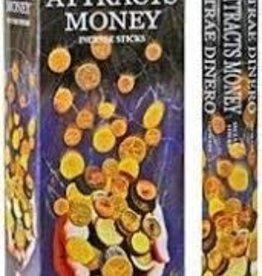 Incense Attracts Money HEM HEX