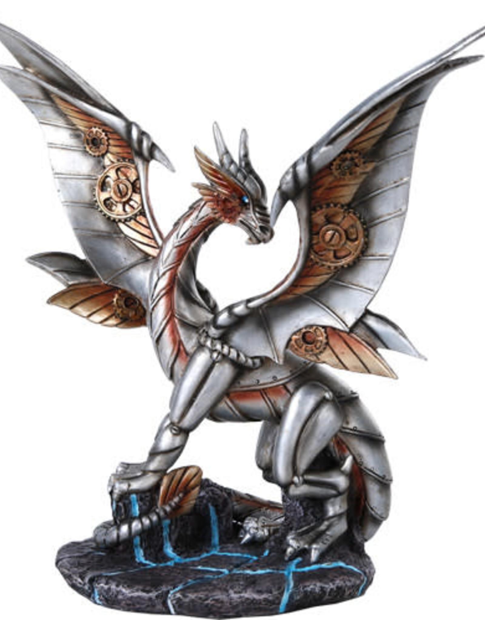 Statue Steampunk Dragon C/8 PG