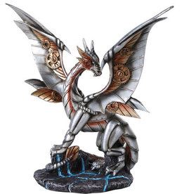Statue Steampunk Dragon C/8 PG
