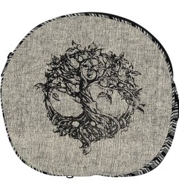 Black and White Convertible Backpack/ Tree Of Life BEN