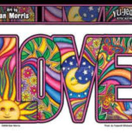 Sticker Dan Morris Indoor Outdoor Love AFG