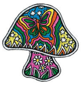 Patch Mushroom Butterfly AFG