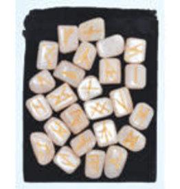 Rune Set Moonstone in Bag AZ