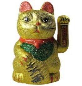 Original Source Waving Gold Lucky Cat OS