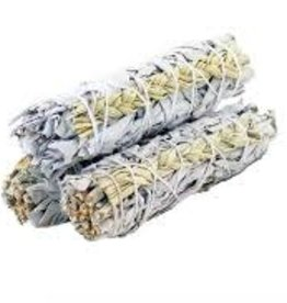 """Smudge White Sage and Sweetgrass 4"""" DK"""