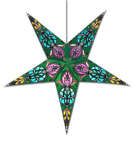 Star Lamp Green Lotus WP